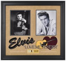 Elvis Presley Love Me Tender Framed Collage