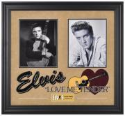 Elvis Presley Love Me Tender Framed Collage