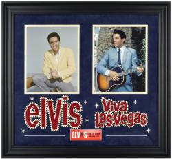 Elvis Presley Viva Las Vegas Framed Collage