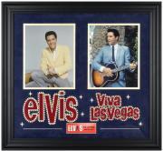 Elvis Presley Viva Las Vegas Framed Collage