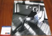 Pretty Emilia Clarke Signed 11x14 Game of Thrones Dany Terminator PSA/DNA