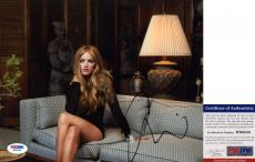 Pretty Emily Wickersham Signed 8x10 Ellie Bishop NCIS PSA/DNA