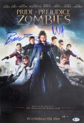 Pride & Prejudice & Zombies (5) Headey , Brady +3 Signed 12x18 Photo BAS #A70492