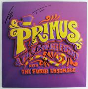 "Primus Signed ""& The Chocolate Factory"" Album Fungi Ensemble Psa/dna #x03661"