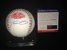 Prince Fielder Signed/Auto 2015 All Star Baseball Texas Rangers Star PSA/DNA