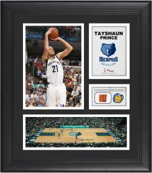 "Tayshaun Prince Memphis Grizzlies Framed 15"" x 17"" Collage with Team-Used Ball"