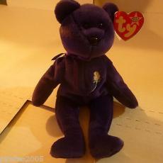 Princess Bear Ty Beanie Baby Princess Diana Elton John