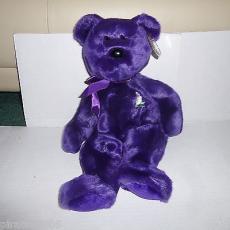 Princess The Bear Princess Diane Ty Beanie Buddy Baby Plush Stuffed Animal