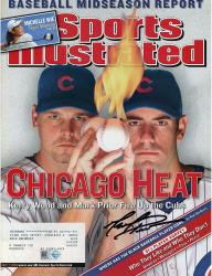 Mark Prior Chicago Cubs Autographed Chicago Heat Sports Illustrated Magazine
