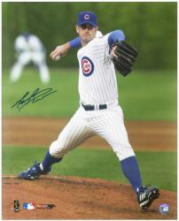 """Mark Prior Chicago Cubs Autographed 16"""" x 20"""" Action Photograph"""