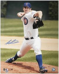 "Mark Prior Chicago Cubs Autographed 16"" x 20"" Pitching Photograph"