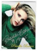 Priscilla Barnes Signed 2005 Chicagoland Entertainment Expo Card Threes Company