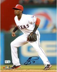 "Jurickson Profar Texas Rangers Autographed 8"" x 10"" Fielding Photograph"
