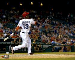 "Jurickson Profar Texas Rangers Autographed 16"" x 20"" Hitting Photograph"