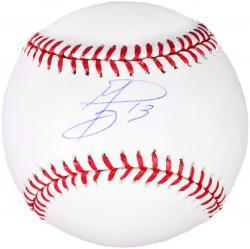 Jurickson Profar Texas Rangers Autographed Baseball