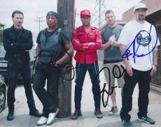 Prophets of Rage Signed Autographed 8x10 Photo by Chuck D Tim Commerford B-Real