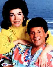 Psa/dna Annette Funicello Autographed-signed 8x10 Photo W/frankie Avalon Ab41846