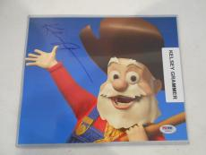 PSA/DNA Authentic Signed Kelsey Grammer Auto 8x10 Photo Prospector Toy Story 2