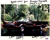 Psa/dna Batman Adam West-burgess Meredith-frank Gorshin Autographed 8x10 Photo 4