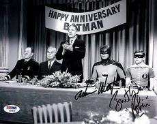 "Psa/dna Batman Adam West & Burt Ward ""robin"" Autographed-signed 8x10 Photo 79365"