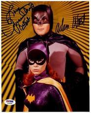 Psa/dna Batman Julie Newmar Batgirl & Adam West Autographed-signed 8x10 Photo 59