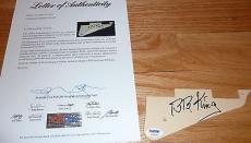 Psa/dna Bb King Autographed-signed Guitar Pickguard Z01439 (pick Guard)