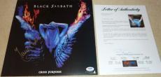 Psa/dna Black Sabbath Auto Lp Album Butler-iommi-martin-rondinelli & Nicholls 34