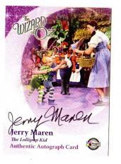 Psa/dna Breygent Jerry Maren Munchkin Autographed-signed Wizard Of Oz Card Jm2