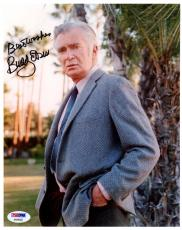 "Psa/dna Buddy Ebsen Inscribed ""best Wishes"" Autographed-signed 8x10 Photo A94302"