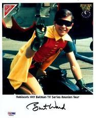 Psa/dna Burt Ward As Robin Autographed-signed 8x10 Nabisco 1997 Batman Photo 32