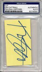 Psa/dna Cut Signature  Kim Cattrall (rare)   9361