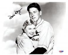 Psa/dna Doris Day Autographed-signed 8x10 Photo Winning Team W/ronald Reagan 852