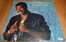 Psa/dna Eddie Murphy: Comedian Autographed-signed Vintage Record Album X54965