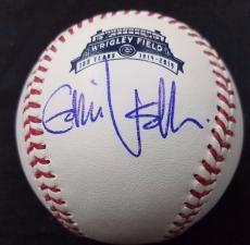 Psa/dna Eddie Vedder Autographed Mint 1914-2014 Cubs Wrigley Field Oml Baseball