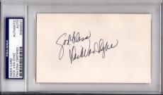 Psa/dna Holloywood Legend Dick Van Dyke Autographed-signed 3x5 Index Card 846041