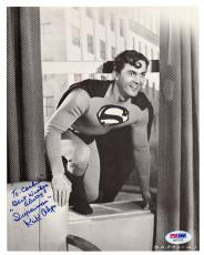"Psa/dna Kirk Alyn Inscribed ""superman"" Autographed-signed 8x10 Photo Aa71019"