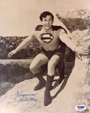 """Psa/dna Kirk Alyn Inscribed """"superman"""" Autographed-signed 8x10 Photo Aa71020"""