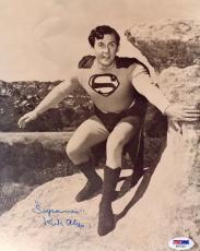 """Psa/dna Kirk Alyn Inscribed """"superman"""" Autographed-signed 8x10 Photo Aa71021"""
