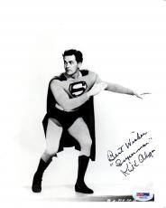 """Psa/dna Kirk Alyn Inscribed """"superman"""" Autographed-signed 8x10 Photo Aa92182"""