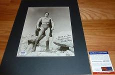 """Psa/dna Kirk Alyn Inscribed """"superman"""" Autographed-signed 8x10 Photo Ab27080"""