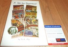 "Psa/dna Kirk Alyn ""superman"" Autographed-signed A Job For Superman! Book Aa12215"