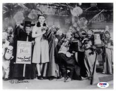Psa/dna Munchkin Meinhardt Raabe The Wizard Of Oz Signed 8x10 Photo Z43766