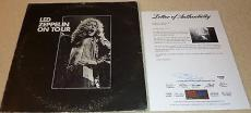 Psa/dna Robert Plant & John Paul Jones Led Zeppelin Autographed Lp Album T05836