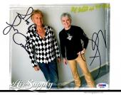 PSA/DNA RUSSELL HITCHCOCK & GRAHAM RUSSELL AIR SUPPLY SIGNED 8x10 PHOTO AB41866