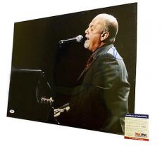 Psa/dna Signed 16x20 Photo Billy Joel *100