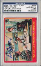 Psa/dna Signed 1976 Opc Happy Days Ron Howard 5070