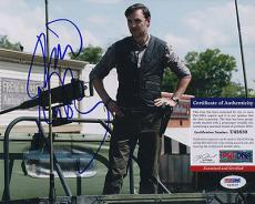 Psa/dna Signed 8x10 Photo  David Morrissey  (walking Dead)  3848