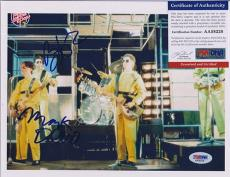 Psa/dna Signed 8x10 Photo Devo (m.mothersbaugh / Bob Lewis) P2776