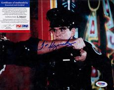 Psa/dna Signed 8x10 Photo Tim Kazurisnky (police Academy) P2989