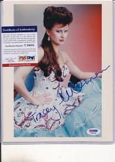 Psa/dna Signed 8x10 Photo Tracey Ullman  1514